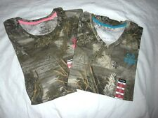 Realtree Max-1 XT Camo LADIES T Shirts - You Pick - Hunting Shirts - Turkey NWT