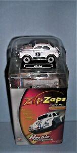 2005 radio Shack Zip Zaps Micro RC Herbie Fully Loaded 1:64 Scale