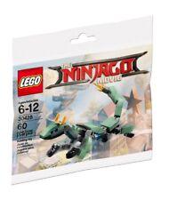 Genuine Lego The Ninjago Movie Polybag 30428 Green Dragon Lloyd / New Sealed
