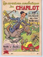 """BD """"CHARLOT NE S EN FAIT PAS"""" THOMEN / SANS DATE"""