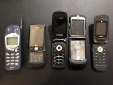 Lot Of 5 Used Cell Phones, Untested, Lg, Motorola, Samsung, Nokia, Ut Starcom