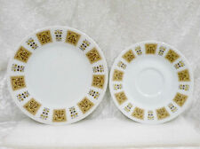 Noritake Wheatley 410 - Side Plate & Saucer vgc