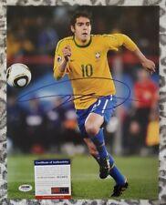 Kaka Brazil autographed signed 11x14 photo coa Psa/Dna #ac23672