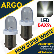 H6W BAX9S WHITE LED 1-SMD 5630 SIDE LIGHTS INTERIOR LIGHTS BULB FIT AUDI