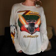 Vintage Zz Top Eliminator Tour 1983 Long Sleeve T-Shirt