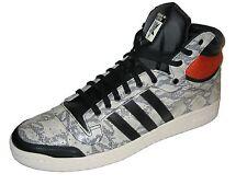 Adidas Originals top ten Hi m25601 Hi-tops gris/negro/naranja/blanco hombre nuevo