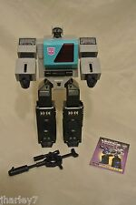 TRANSFORMERS TOMY E HOBBY COLLECTOR'S CLUB SHATTERED GLASS BLASTER 100% COMPLETE