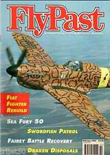 Flypast 1995 February Sea Fury,Whirlwind,Draken,Hucclecote,Swordfish,Blackburn
