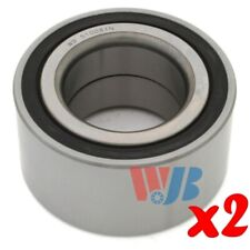 Pair of 2 New Front Wheel Bearing WJB WB510081 Interchange 510081 FW192