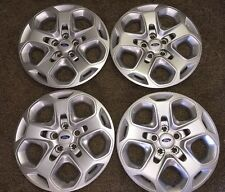 7052 Set Of 4 NEW 2010-12 Ford Fusion Hubcaps Wheel Covers 17 inch Bolt On