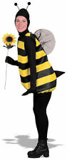 Complete Bumble Bee Adult Animal Costume Insect Halloween Fancy Dress Outfit STD