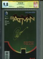 Batman 30 AND 25 NEW 52 CBCS AND CGC 9.8, BOTH SIGNED,Greg Capullo,Scott Snyder