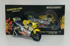 MINICHAMPS VALENTINO ROSSI 1/12 HONDA NSR 500 GP LE MANS 2001 BARCODE