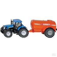 Siku New Holland Tractor With Slurry Tanker 1:50 Scale Model Gift Toy