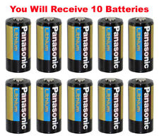 10x Panasonic CR123A Battery CR123 CR 123 Lithium 3V Photo Batteries Bulk