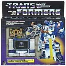 NEW Transformers Walmart G1 Reissue Soundwave with Buzzsaw cassette 2018!!!