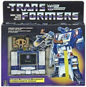2018 Transformers Generation One G1 Soundwave /& Buzzsaw Reissue NIP VHTF