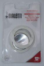 Bialetti Ersatzteilset Dichtung und Filter für Espressokocher Aluminium 3 Tassen