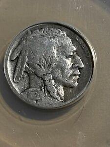 1920-D US Buffalo Nickel Graded VG8 by ANACS!!