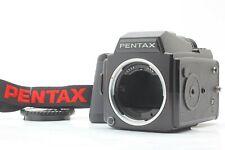 【 Mint 】 Pentax 645 Medium Format Kameragehäuse W/120 Film Hintere Japan