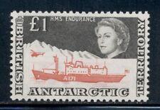 BRITISH ANTARCTIC TERRITORY 24 SG15a MH 1969 £1 QEII Ship HMS Endurance Cat$160