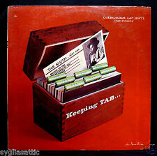 TAB SMITH-KEEPING TAB Jazz Album-CHECKER #LP-2971-DON BRONSTEIN COVER