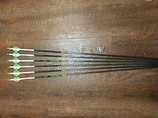 Gold Tip XT Hunter 300 Arrows With Blazer Vanes Custom Made Set of 6