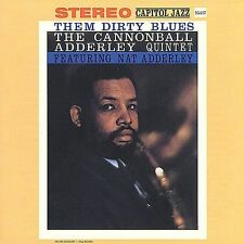 NEW Them Dirty Blues by Cannonball Adderley CD FAST FREE 1ST CLASS SHIP