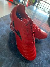 Joma Aguila Gol Red White  Leather Edition Soccer Classic Cleats Size Man 9 Only