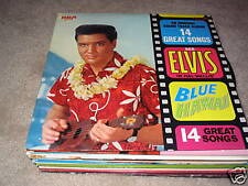 Elvis Presley; Blue Hawaii on LP LSP-2426 Stereo