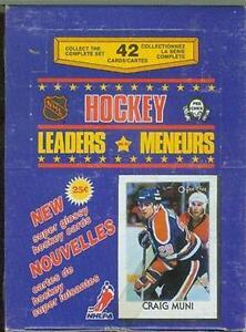 1986/87 OPC O-PEE-CHEE LEADERS HOCKEY BOX