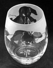 POLAR BEAR Frieze Boxed 36cl Crystal Stemless Wine / Water Glass