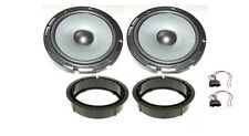 Dax zgd-165w Woofer Bass Set Altoparlanti VW Golf IV Passat b6 LUPO BORA