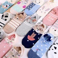 Girls Warm Cute Ankle Socks 3D Cartoon Animal Cotton Low Cut