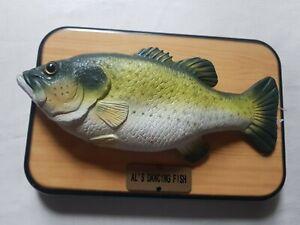 Al's dancing fish FOR PARTS/DISPLAY not working. singing fish MB