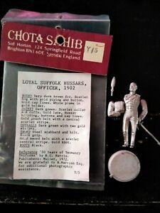 Chota Sahib/loyal Suffolk hussars  54mm no 90mm 1/32  historex pegaso andrea