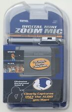 Sima MZM-1 Digital Mini Zoom Microphone Dual Mode Condenser Camcorder Mic - NEW