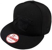 New era NFL carolina panthers Black on Black SnapBack cap 9 fifty Limited Edition