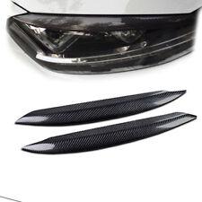 Carbon Fiber Eyebrow Eyelid Headlight Cover for Volkswagen VW Golf 7 Mk7 13-2018