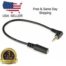 2.5mm Male to 3.5mm Female M/F Stereo Headphone Headset Adapter Converter