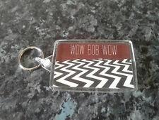 Twin Peaks Jumbo Keyring. Wow Bob Wow! NEW. Laura Palmer, Lynch