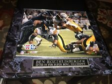 SUPER BOWL XL 8x10 ACTION PHOTO Steelers vs Seahawks BEN ROETHLISBERGER Framed