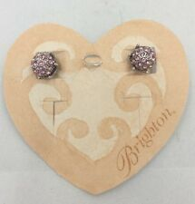 Brighton PALOMA Pink Post Earrings Swarovski Crystals  NWT JE7287 List $44