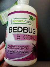 Nature Works Bedbug B-Gone 16 Oz Spray/No Harsh Chemicals Kills On Contact