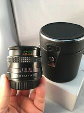 SEARS multicoated 1:2.8 f=28mm lens MACRO for PENTAX K1000 - excellent