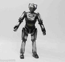 "Doctor Dr Who Cyberman Action figure 6"" loose"