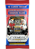 2020 PRIZM FOOTBALL NFL CELLO MULTI PACK FACTORY SEALED JOE BURROW, HERBERT x 1
