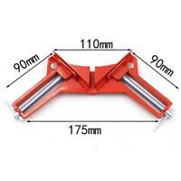 Universale Morsetto ad Angolo di Metallo Rosso 120x 80x 20mm Lavoro di Legno