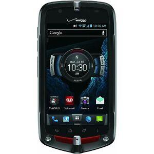 Casio GzOne Commando C811 - Black (Unlocked) 4G LTE GSM Android Touch Smartphone
