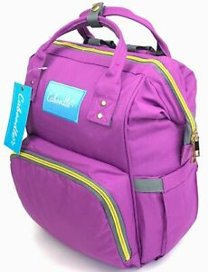 Large Baby Changing Backpack Nappy Bag With Mat Waterproof Rucksack